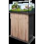 Sera AquaTank 96 L Aquarium + Meuble  Couleur meuble-Silver Oak Hauteur Meuble-100 cm Lampe-Fixture (Rampe)
