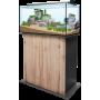 Sera AquaTank 128 L Aquarium + Meuble  Couleur meuble-Silver Oak Hauteur Meuble-80 cm Lampe-Fixture (Rampe)